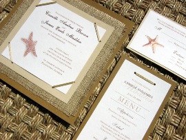 Beach Wedding Invitations 02