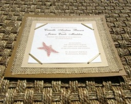 Beach Wedding Invitations 03