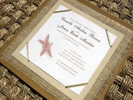 Beach Wedding Invitations 04