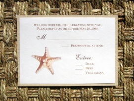 Beach Wedding Invitations 05