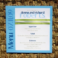 Blue Wedding Invitations 01