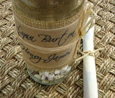 Message in a Bottle Wedding Invitations 04