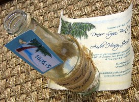 Message in a Bottle Wedding Invitations 06