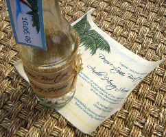 Message in a Bottle Wedding Invitations 07