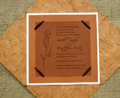 Fall Wedding Invitations 06