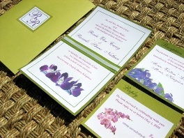 Green Wedding Invitations 03