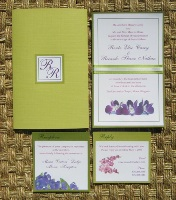 Green Wedding Invitations 04