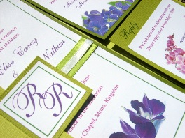 Green Wedding Invitations 05