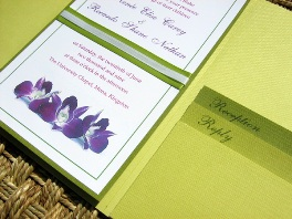 Green Wedding Invitations 07