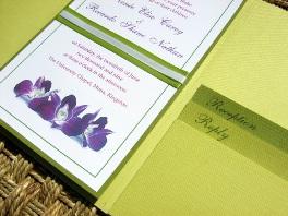 Green Wedding Invitations 07