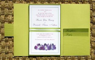 Green Wedding Invitations 08