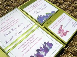 Green Wedding Invitations 11