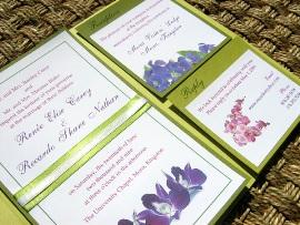 Green Wedding Invitations 11