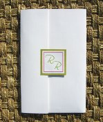 Pink and Green Wedding Invitations 02