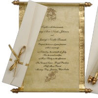 scroll-wedding-invitation