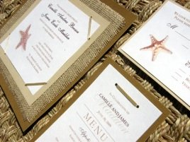 Beach Wedding Invitations 01