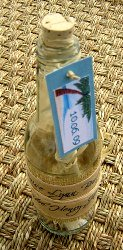 Message in a Bottle Wedding Invitations 01