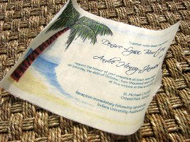 Message in a Bottle Wedding Invitations 05