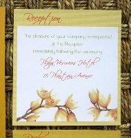 Orange Wedding Invitations 09
